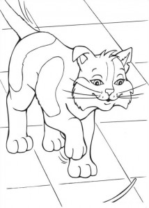 coloring page Barbie and the beggar (18)