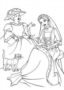 målarbok Barbie och tiggaren (4)
