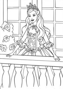 målarbok Barbie och tiggaren (6)