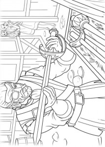 coloring page Barbie og de tre musketerer (10)