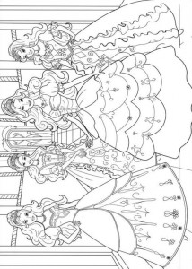 coloring page Barbie and the three musketeers (11)