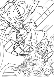 coloring page Barbie and the three musketeers (8)