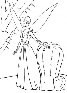 coloring page Barbie FairyTopia (10)