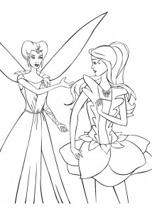 coloring page Barbie FairyTopia (11)