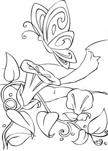 coloring page Barbie FairyTopia (15)