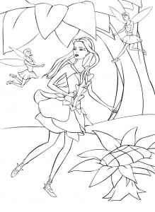 coloring page Barbie FairyTopia (18)