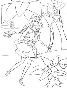 målarbok Barbie FairyTopia (18)