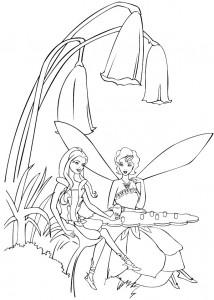 kleurplaat Barbie FairyTopia (19)