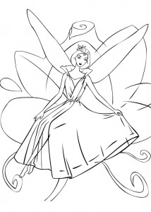 coloring page Barbie FairyTopia (5)