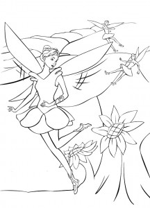 coloring page Barbie FairyTopia (8)