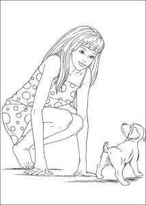 målarbok Barbie, ännu mer! (1)