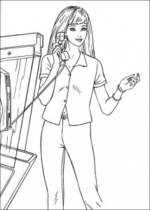 coloring page Barbie, even more! (10)