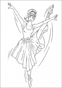 coloring page Barbie, even more! (13)