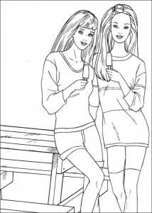 coloring page Barbie, even more! (14)