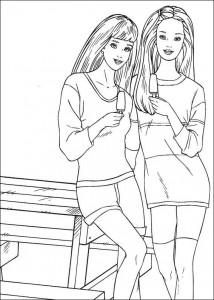 målarbok Barbie, ännu mer! (14)