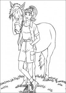 coloring page Barbie, even more! (18)