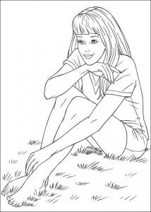 målarbok Barbie, ännu mer! (23)