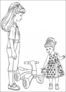 målarbok Barbie, ännu mer! (24)