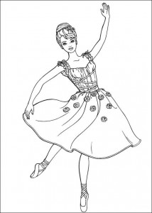 coloring page Barbie, even more! (25)