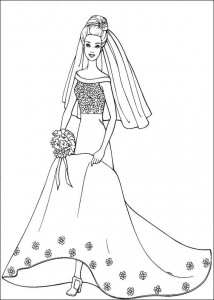 coloring page Barbie, even more! (31)