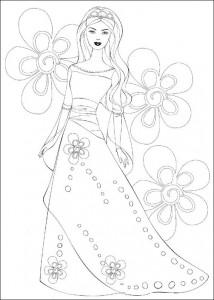 målarbok Barbie, ännu mer! (36)