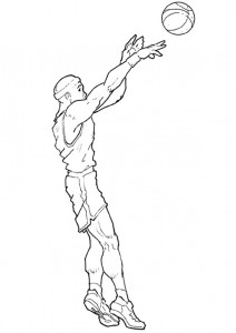 coloring page Basketball (10)