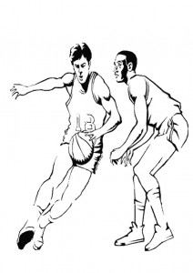 coloring page Basketball (3)
