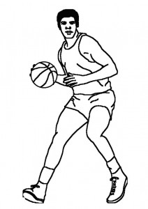 coloring page Basketball (4)