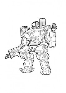 bastion coloring page