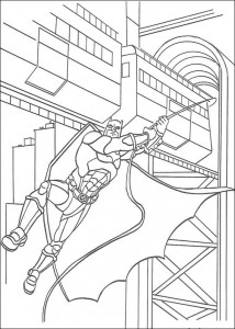 coloring page Batman (1)