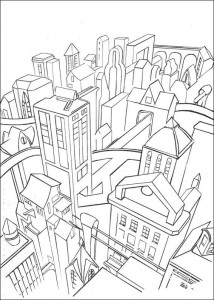 coloring page Batman (10)