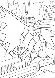coloring page Batman (15)