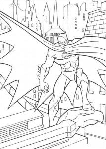 kleurplaat Batman (15)