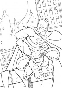coloring page Batman (16)