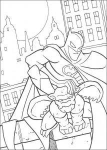 kleurplaat Batman (16)