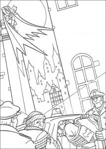 kleurplaat Batman (19)
