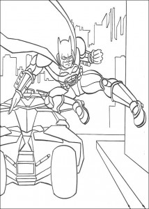 coloring page Batman (2)