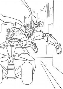 kleurplaat Batman (2)