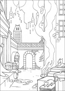 coloring page Batman (22)