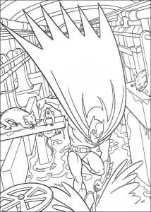 kleurplaat Batman (23)