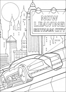 coloring page Batman (27)