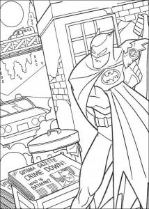 kleurplaat Batman (29)