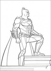 kleurplaat Batman (3)