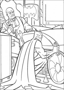 coloring page Batman (30)