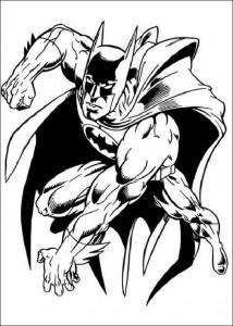 kleurplaat Batman (31)