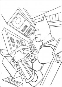kleurplaat Batman (33)