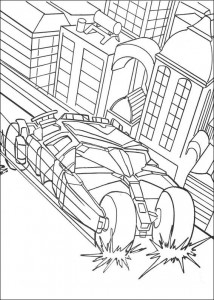 coloring page Batman (4)