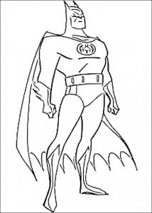 kleurplaat Batman (40)