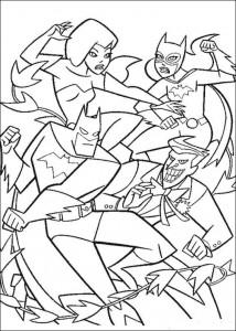 kleurplaat Batman (42)