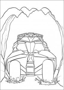 coloring page Batman (46)